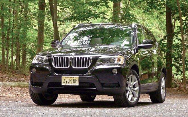 2011 BMW X3 Front Left View2 660x413