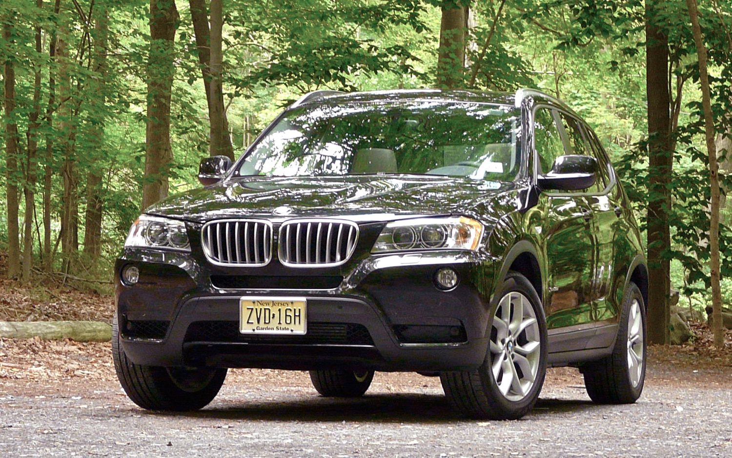 2011 BMW X3 Front Left View2