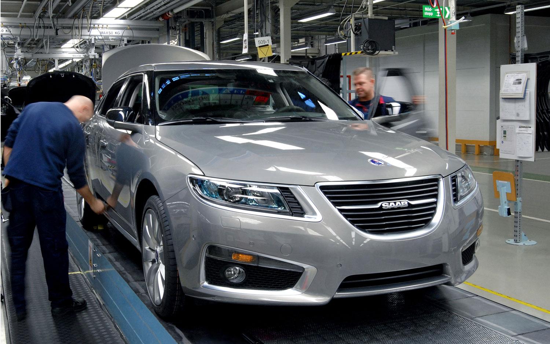 2011 Saab 9 5 Assembly1