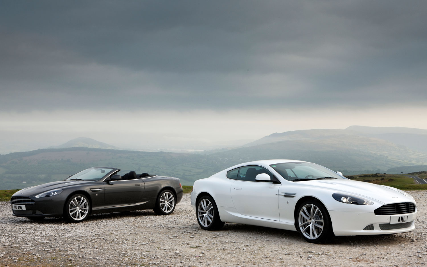 2011 Aston Martin Db9 Coupe And Volante1