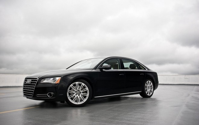 2011 Audi A8l Front Left Side View 660x413