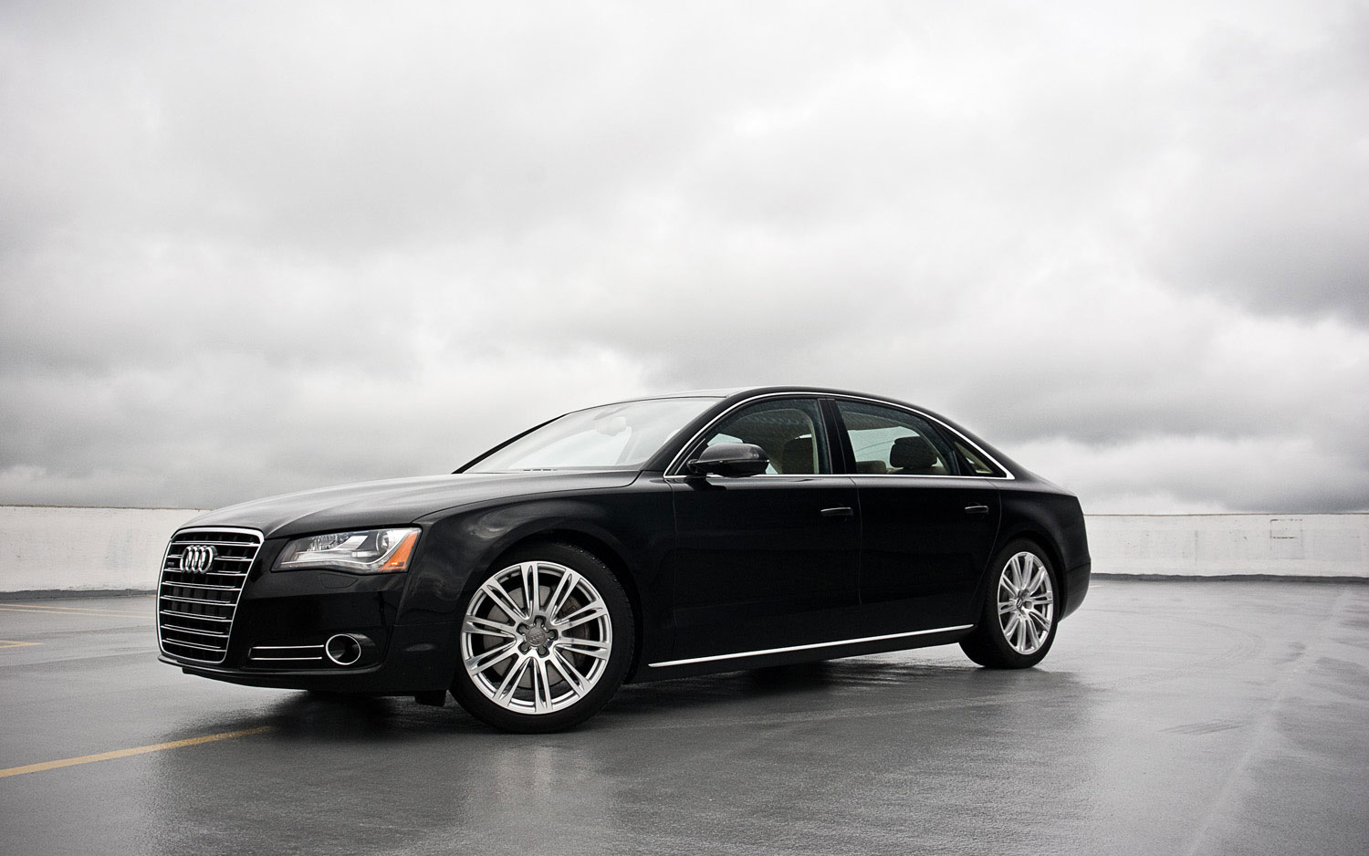 2011 Audi A8l Front Left Side View
