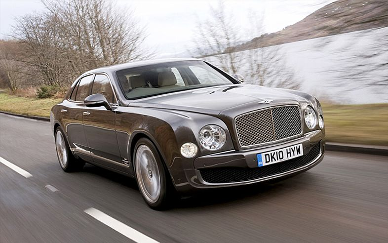 2011 Bentley Mulsanne Front1