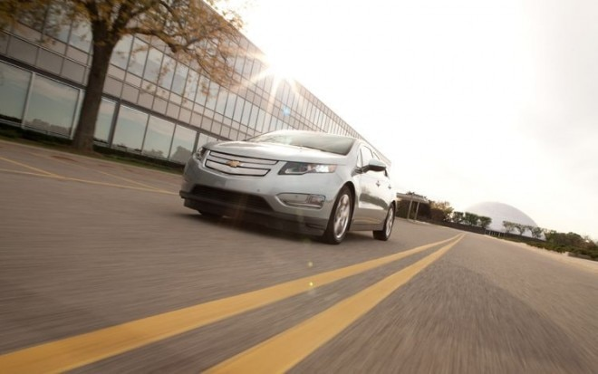2011 Chevrolet Volt Front Shot