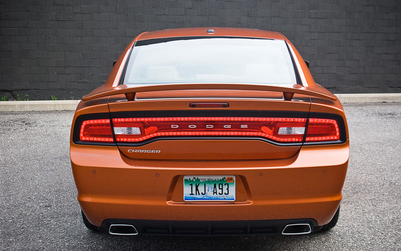 Dodge Charger Rallye Plus Rear View