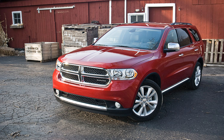 2011 Dodge Durango Awd Crewlux Front Left View3