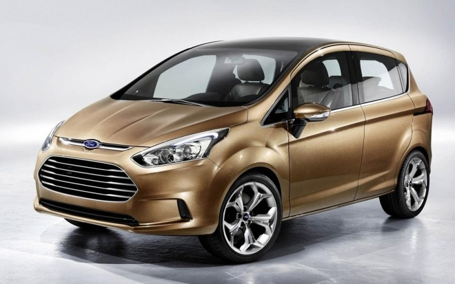 2011 Ford B Max Concept Front Three Quarter1 660x413