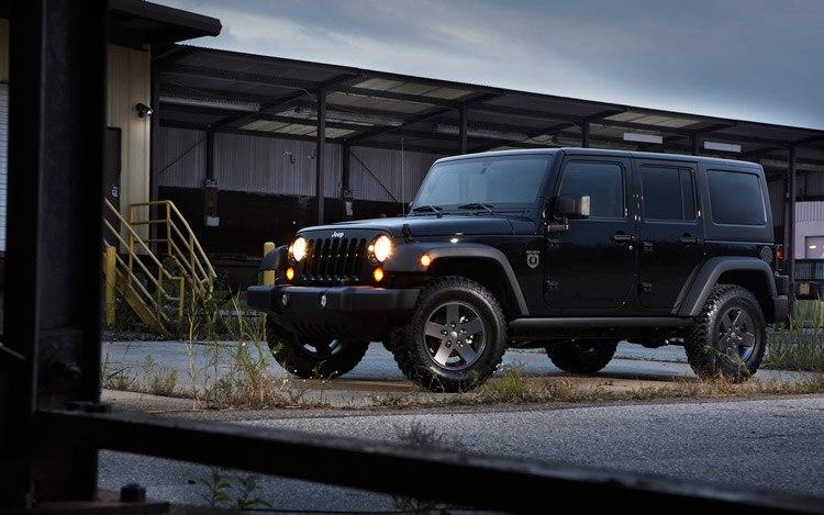 2011 Jeep Wrangler Blackops