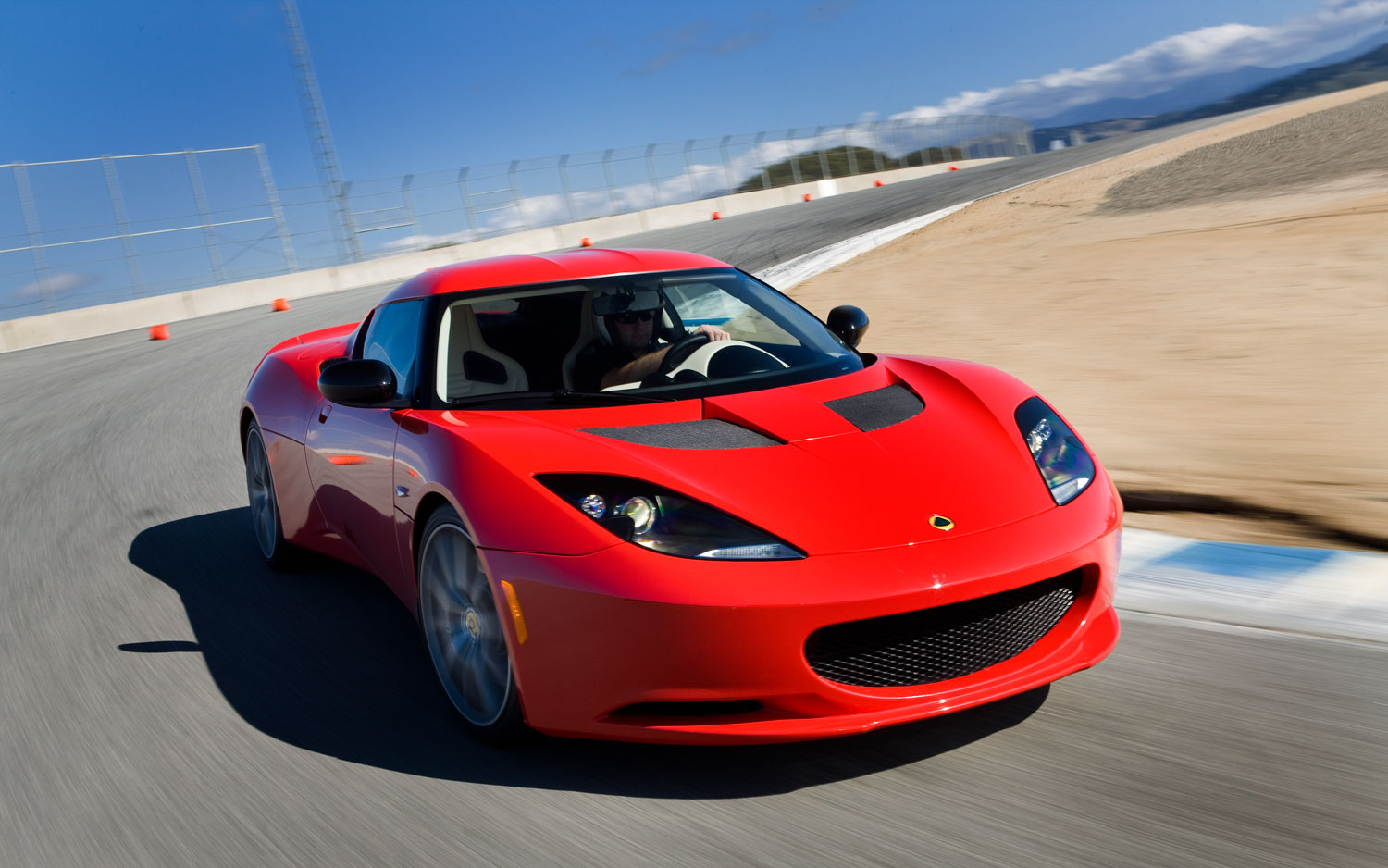 2011 Lotus Evora S Red Front Right View