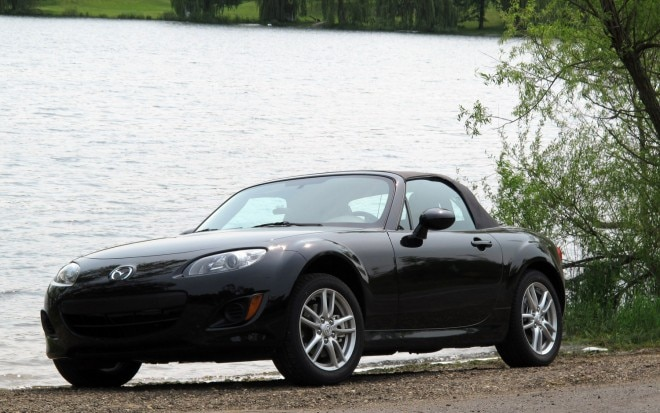2011 Mazda Mx 5 Miata Front Left View Parked By Water 660x413
