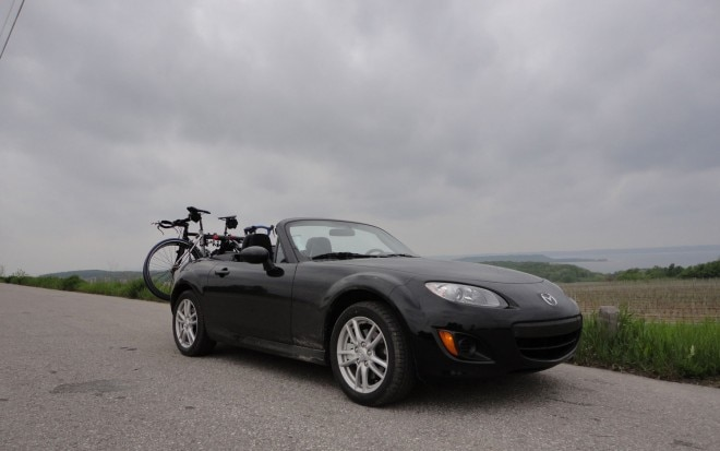 2011 Mazda Mx 5 Miata Front Right Side View Parked4 660x413