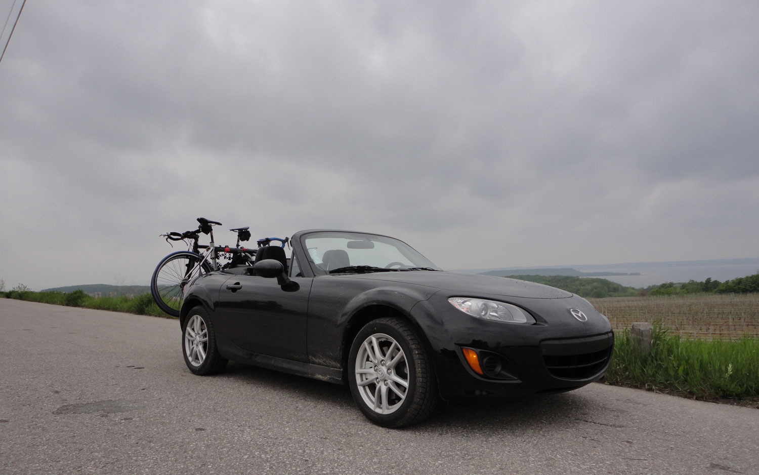 2011 Mazda Mx 5 Miata Front Right Side View Parked4