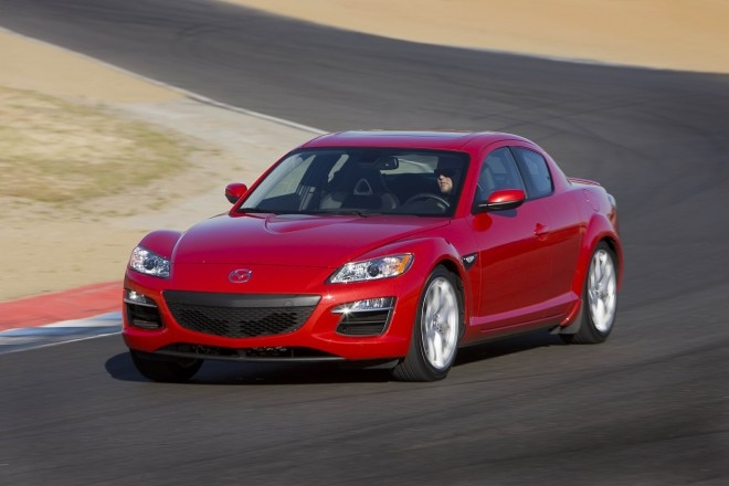 2011 Mazda Rx 8 Grand Touring Front Left Side View Driving4 660x440