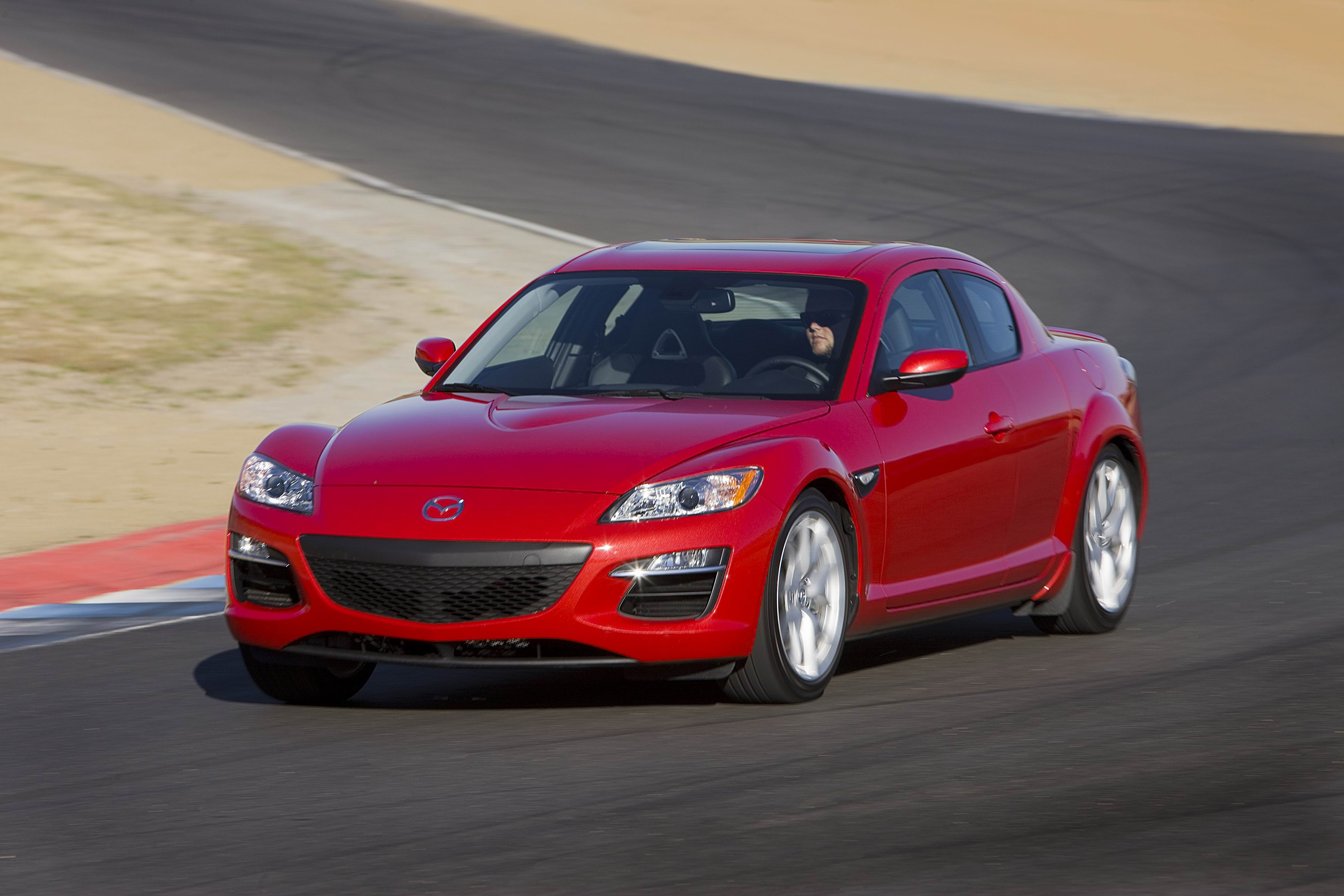 2011 Mazda Rx 8 Grand Touring Front Left Side View Driving4