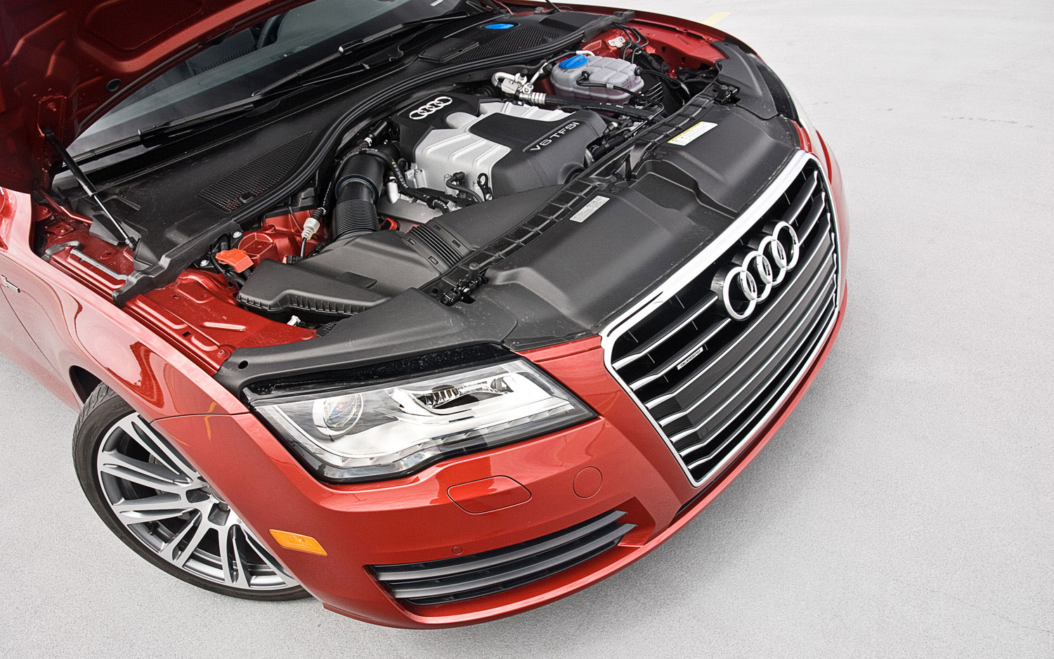 What Is The Difference Between Audi Premium And Prestige >> 2012 Audi A7 3.0T Prestige - Editors' Notebook - Automobile Magazine