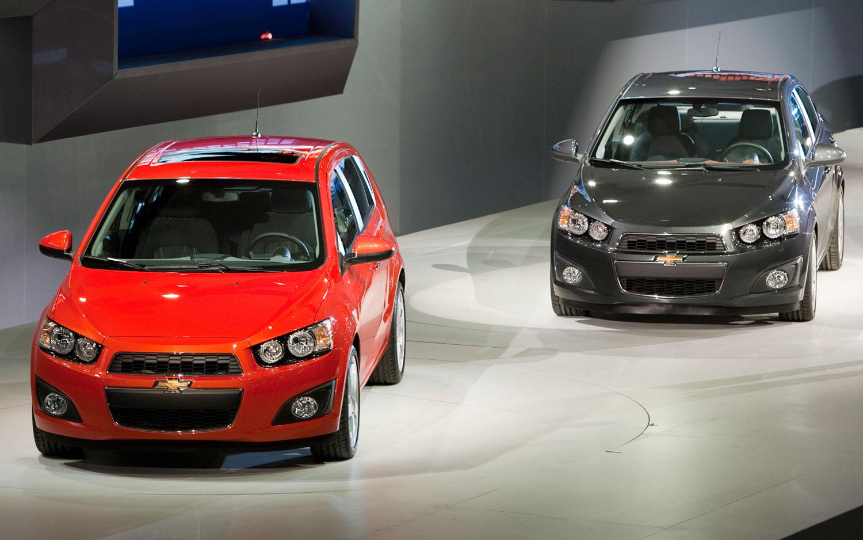 2012 Chevrolet Sonic Sedan And Hatchback1