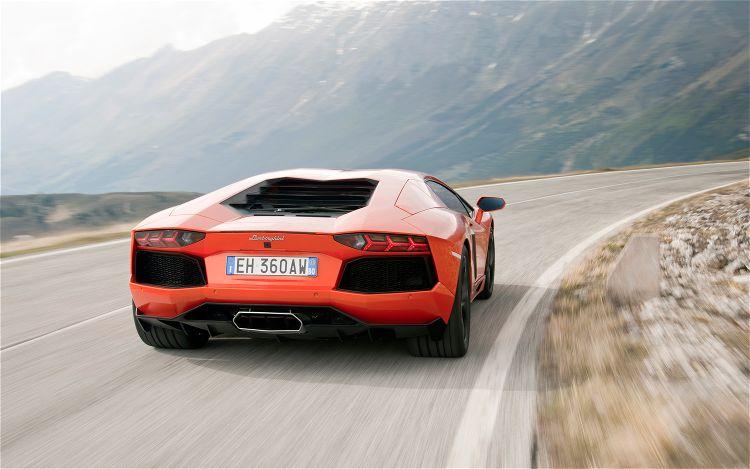 2012 Lamborghini Aventador LP 700 4 Rear Three Quarter In Motion1