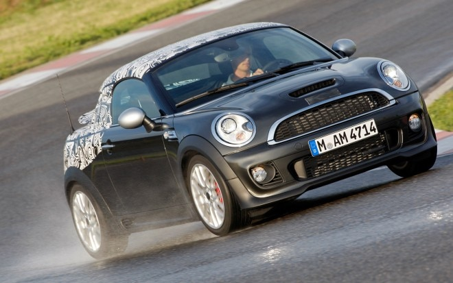 2012 Mini Coupe Front Three Quarter In Motion2 660x413