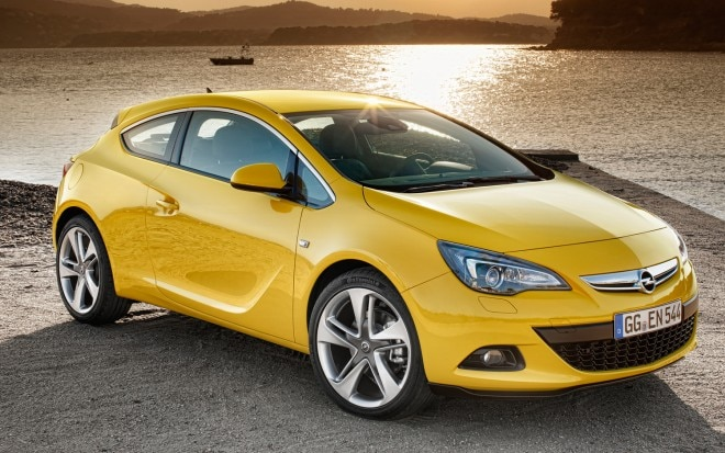 2012 Opel Astra Gtc Passenger Front Three Quarter1 660x413