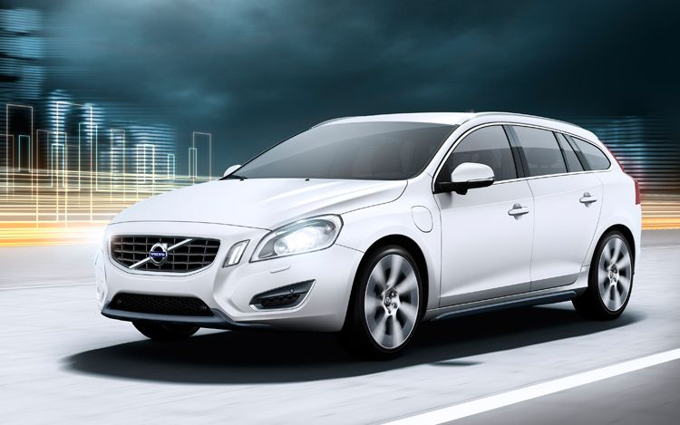 2012 Volvo V60 Plug In Hybrid Front Driving1
