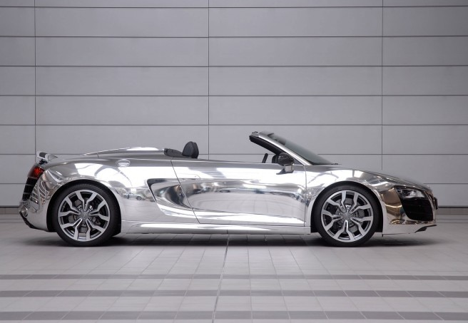 Audi R8 Chrome Side11 656x453