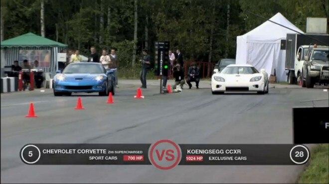 Corvette Koenigsegg DragTimesInfo 11 660x370