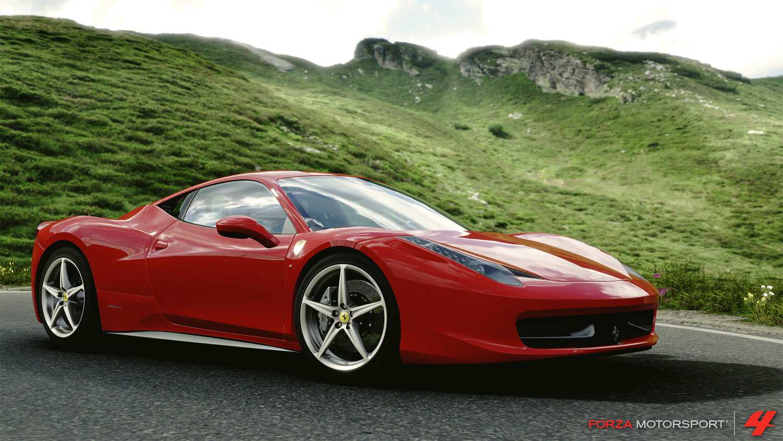 Forza 4 2010 Ferrari 458 Italia Front Three Quarters1