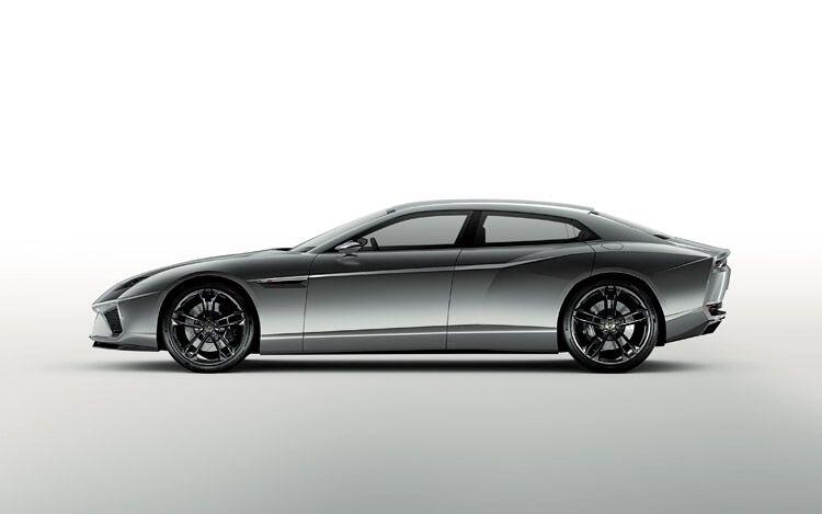 Lamborghini Estoque Side View
