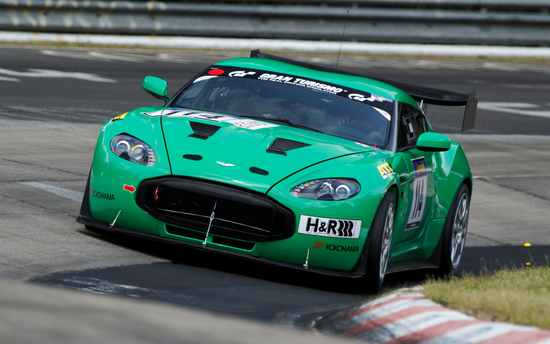 Aston Martin V12 Zagato Race Car Front1
