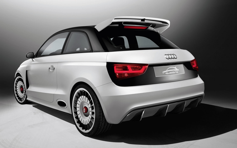 Audi A1 Clubsport Quattro Concept Rear Three Quarter1
