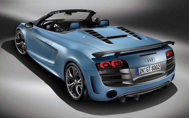 Audi R8 Gt Spyder Rear Three Quarter11 660x413