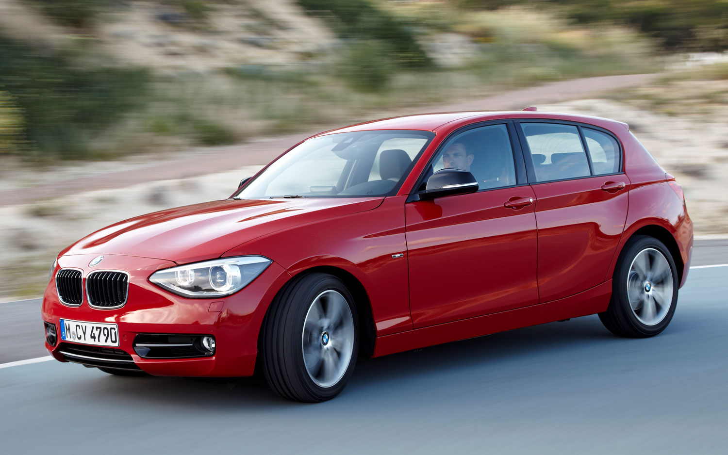 bmw announces 2012 1 series hatchback for europe. Black Bedroom Furniture Sets. Home Design Ideas