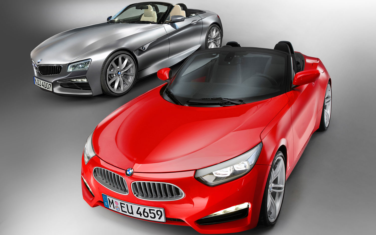 Bmw Z2 Red Illustration1
