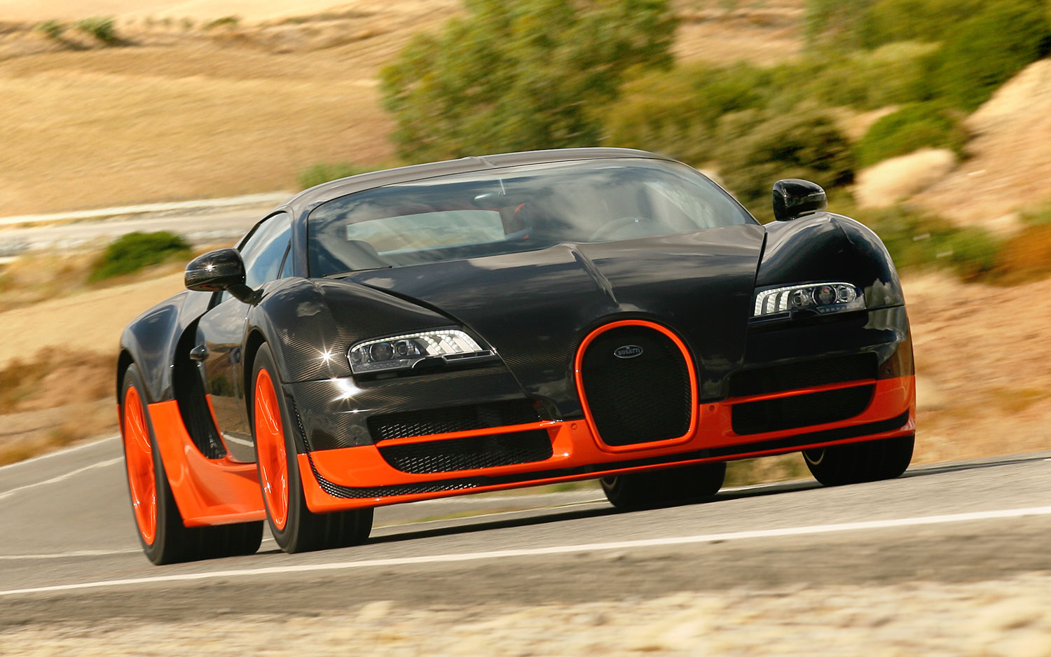 Bugatti Veyron Super Sports Front1