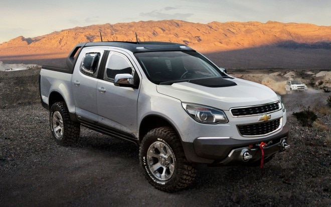 Chevrolet Colorado Rally Concept Front Three Quarter21 660x413