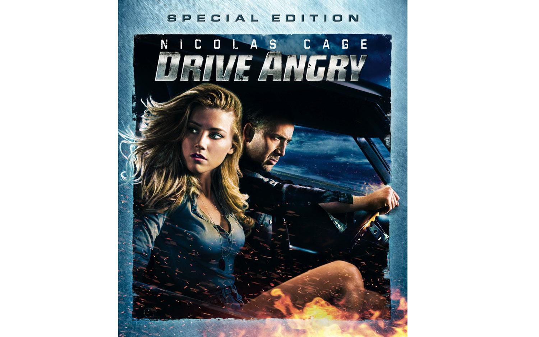Drive Angry Blu Ray Box