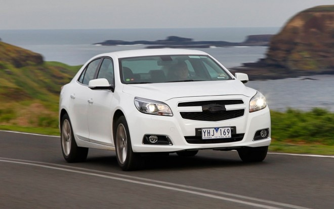 Holden Malibu Front Three Quarter1 660x413
