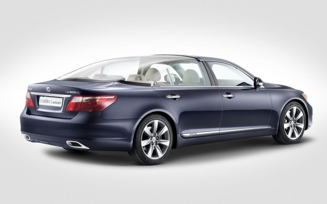 Lexus LS 600h Hybrid Drop Top Rear Three Quarter1 660x413