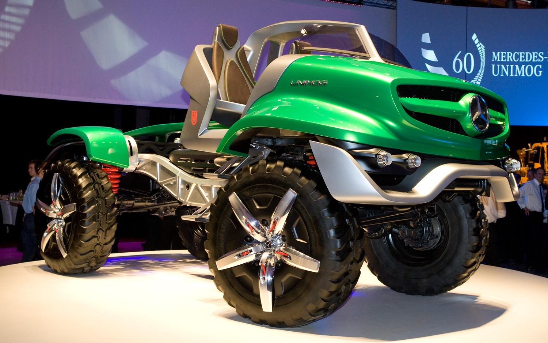 Mercedes Benz Unimog Design Concept Front View1
