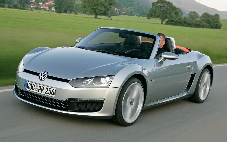 Volkswagen Bluesport Concept Front Three Quarter21