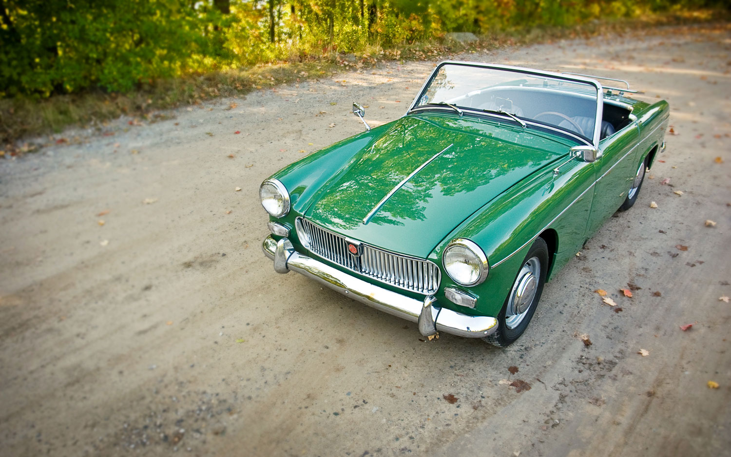 1962 1966 Mg Midget Front Left View3