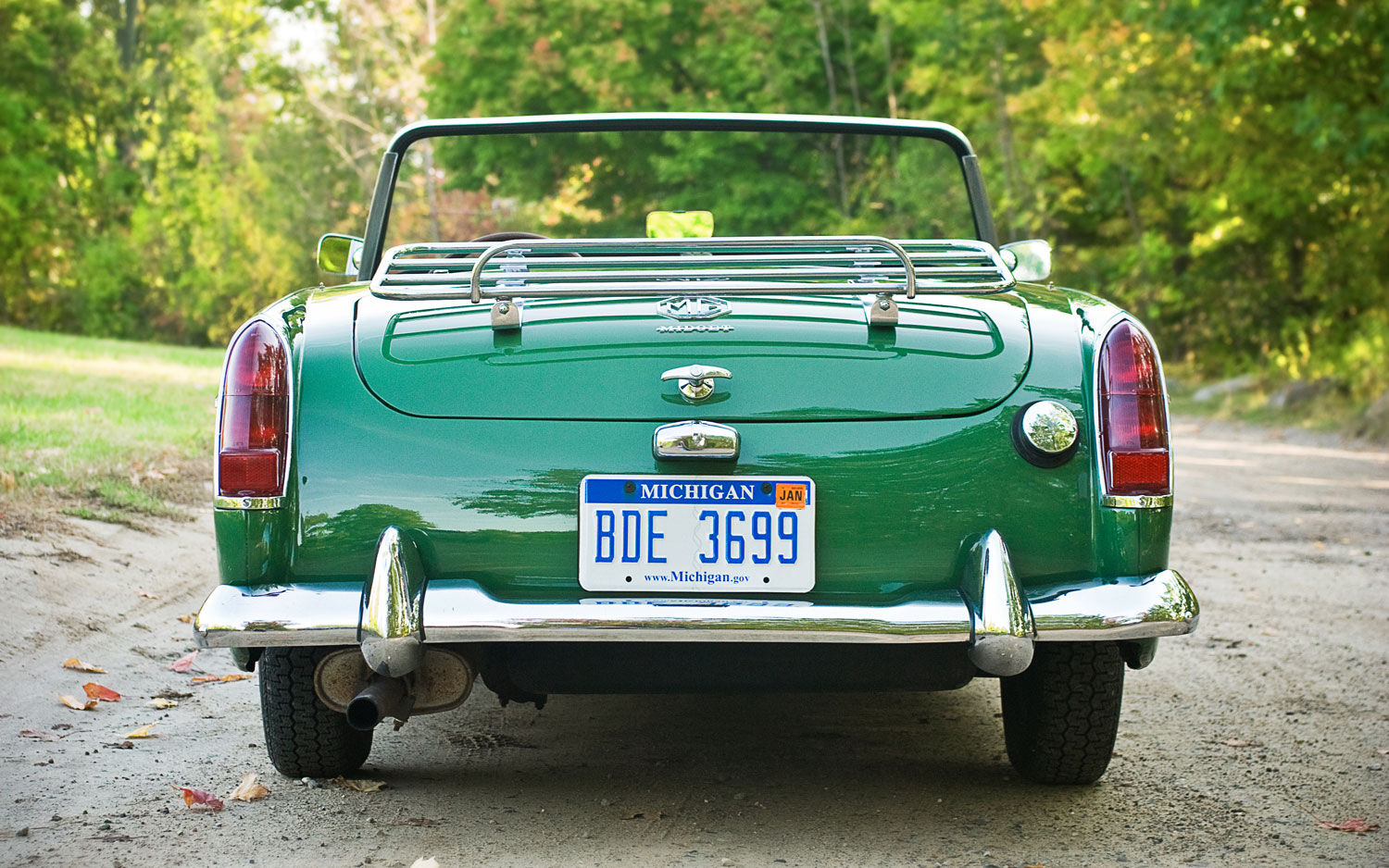 Mg Midget Rear 52