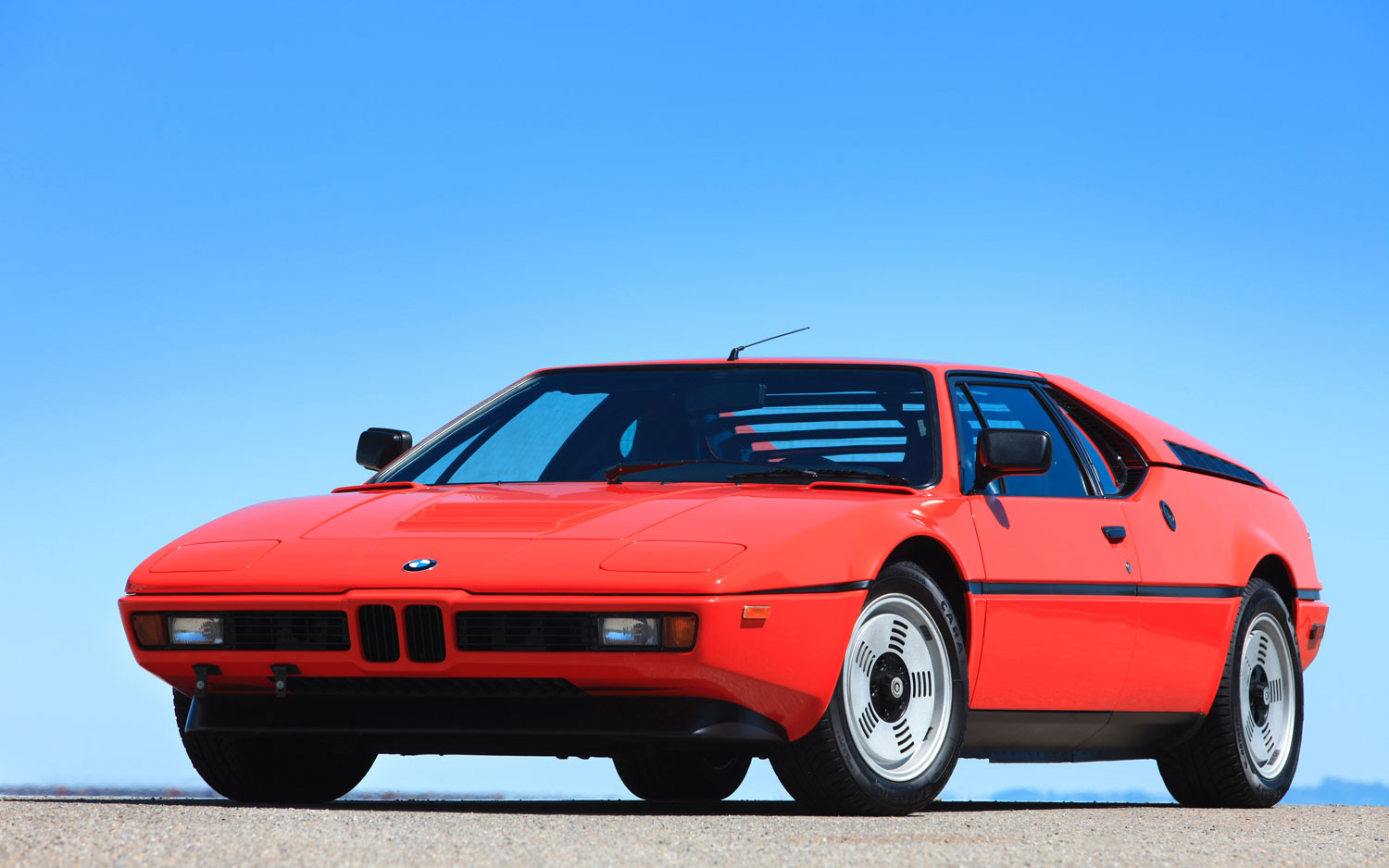1978 1981 Bmw M1 Front Left View Parked1
