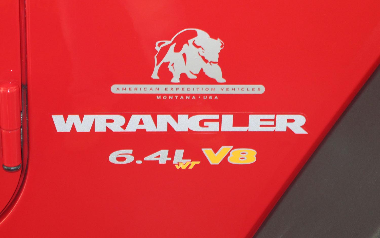 2011 AEV Jeep Wrangler Exterior Quarter Panel Logo1