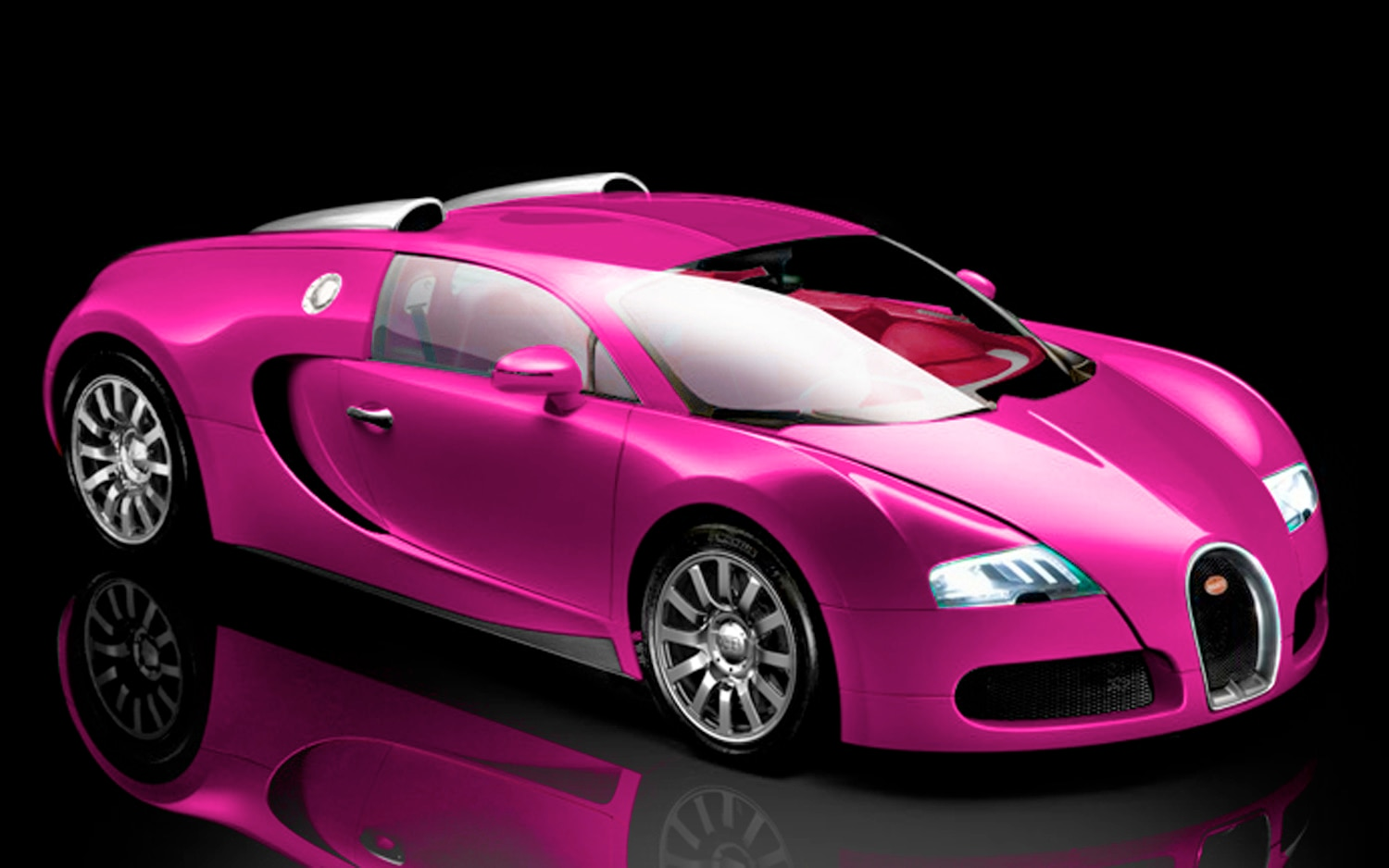 fashion hurts british tv star katie price to paint her bugatti veyron pink. Black Bedroom Furniture Sets. Home Design Ideas