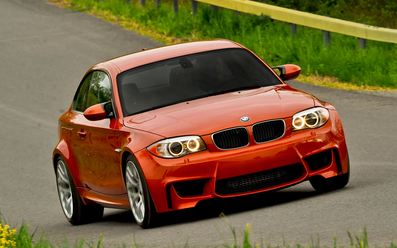 2011 Bmw 1 Series M Coupe Front1
