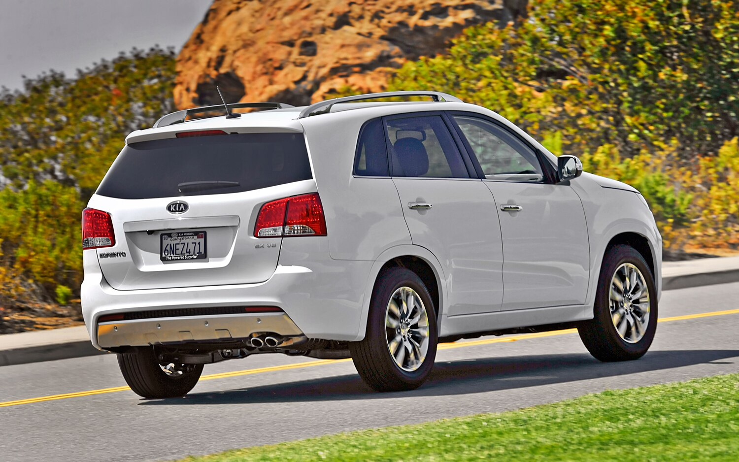 2011 Kia Sorento Sx Awd Editors Notebook Automobile