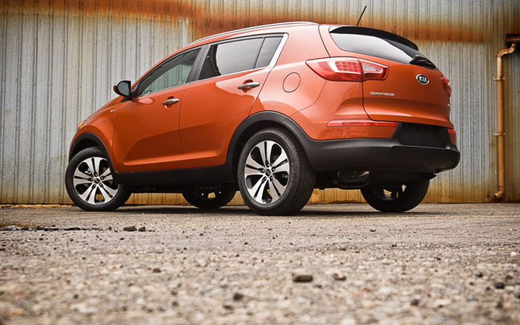 2011 Kia Sportage Ex Awd Rear Left Side View