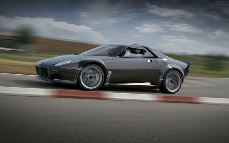 New Lancia Stratos Blocked By Ferrari