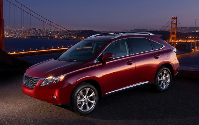 2011 Lexus Rx 350 Front Three Quarter1 660x413